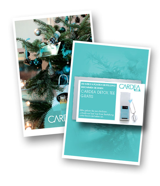 Weihnachtsmailing Cardea Detox