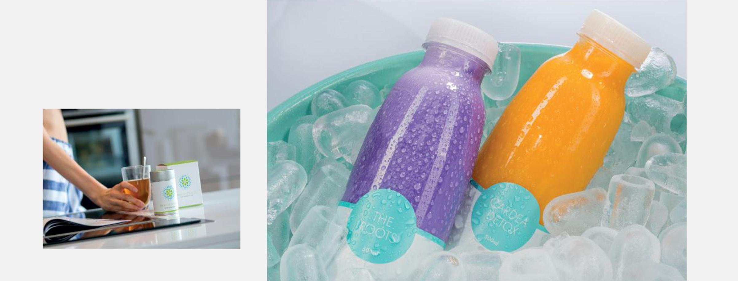 Cardea Juice Gestaltung