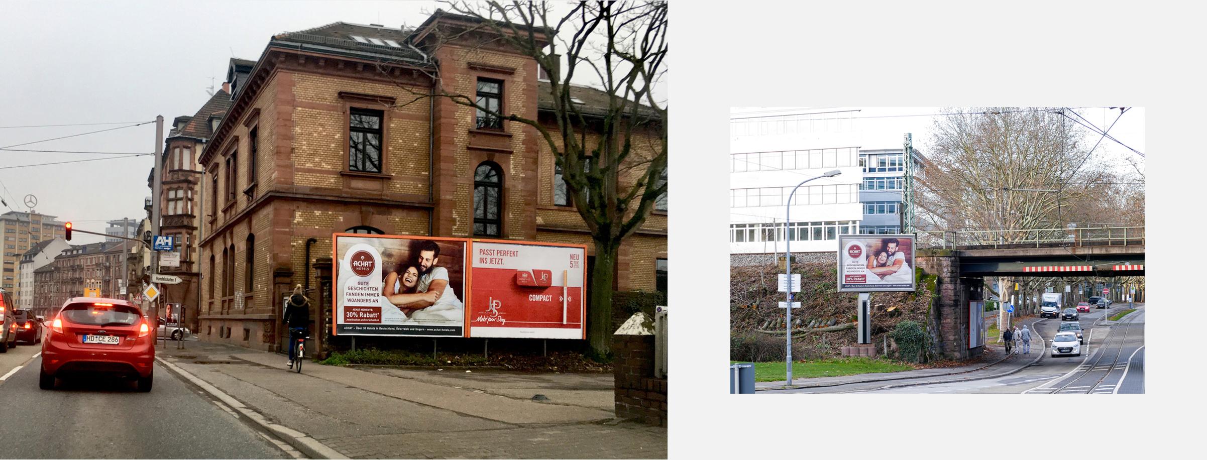 Kampagne Achat Hotels Beispiele